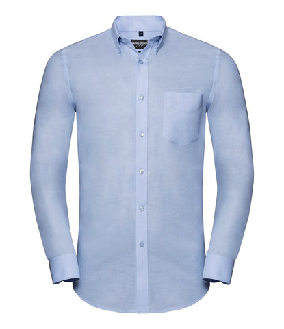 Long Sleeve Shirt - Tailored Long Sleeve Oxford Shirt