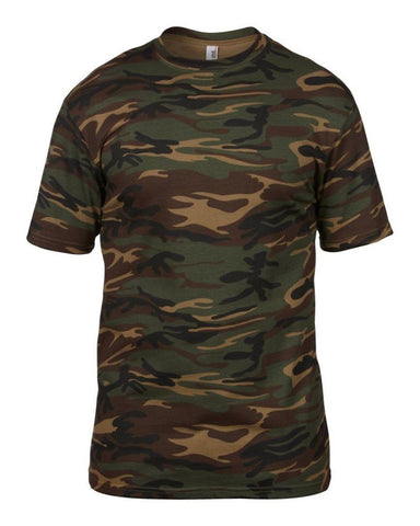 Men's T-Shirts - Camouflage T-Shirt