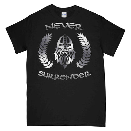 NEVER SURRENDER Printed T-Shirt