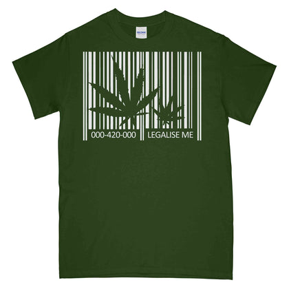 T-Shirt - Legalise Me Cannabis Weed Printed T-Shirt