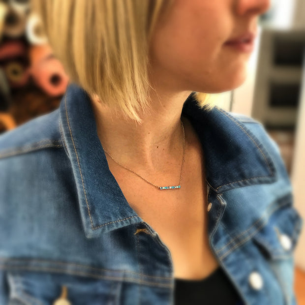 Necklace by CHLOE + LOIS for Unshattered - Glitter and Giveback