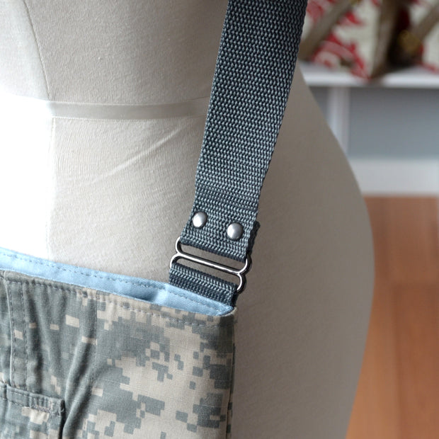 US ARMY MARKET BAG (choice of accent color)