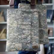 CHOOSE YOUR ACCENT COLOR: US ARMY MARKET BAG