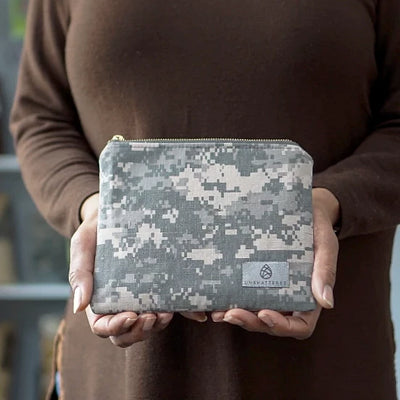 US ARMY UNIFORM ZIP POUCH