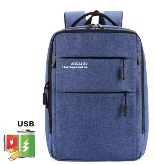 Business USB Charging-Multifunction Laptop Backpack