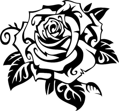 Z:\Decals to Make\new decals to upload\Completed\decal-1575 Rose 2 vinyl decal\decal-1575 Rose 2 vinyl decal.jpg