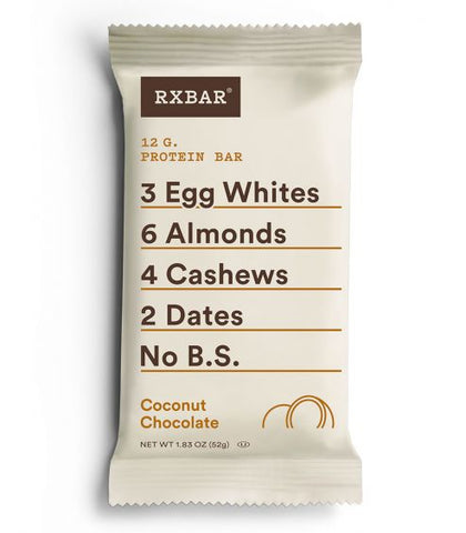 RX Bar Coconut Chocolate, Box of 12