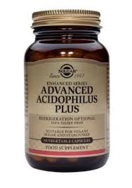 Solgar Advanced Acidophilus Plus 60 Vegetable Caps