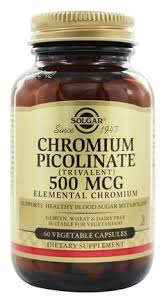 Solgar Chromium Picolinate 120 Vegetable Caps