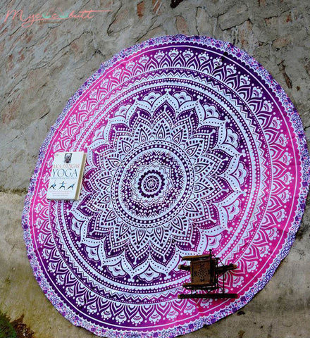 Purple Mandala | Towel