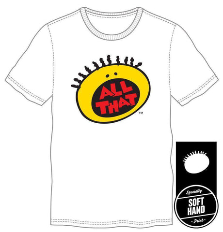 90s All That White Nickelodeon T-Shirt