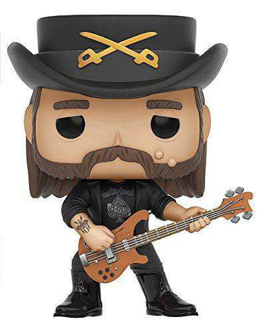 Action Figures - Funko Toys Lemmy Kilmister Motorhead Pop Rocks Vinyl Figure