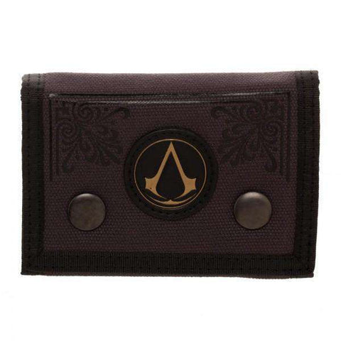 Assassin's Creed Canvas Tri-Fold Wallet