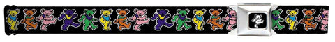 "Belt - Grateful Dead Dancing Bears Seatbelt Belt (24-38"")"
