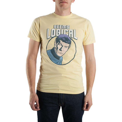 Bioworld Seems Logical Spock Tee