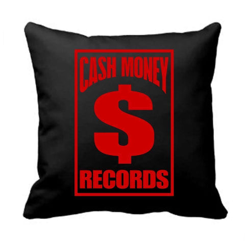 Cash Money Records Logo - Mens Red Pillow
