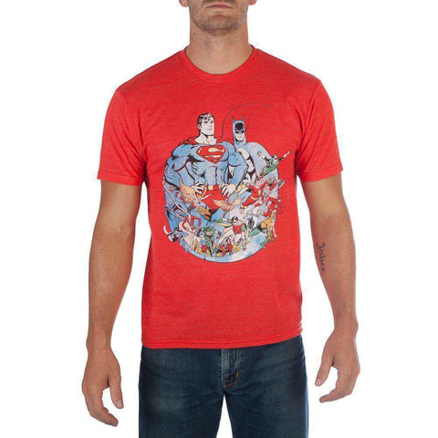 DC Authentic Vintage Print T-Shirt