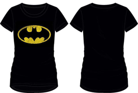 DC Comics Gotham Batman Bat Signal Women's Tee Shirt T-Shirt