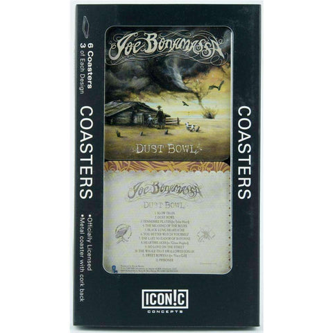 Drink Coasters - Joe Bonamassa Dust Bowl Drink Coaster Set (6 Coasters)
