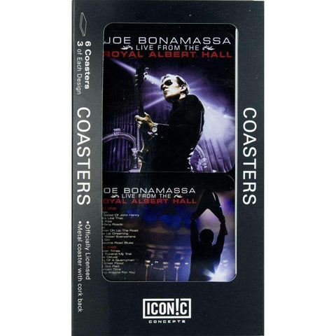 Drink Coasters - Joe Bonamassa Royal Albert Hall Drink Coaster Set (6 Coasters)