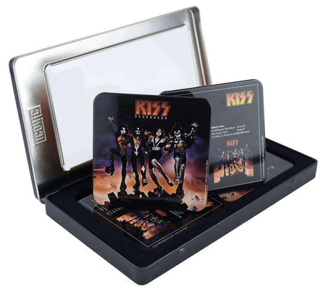 Drink Coasters - KISS Destroyer Drink Coaster Set (6 Coasters)
