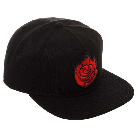 Embroidered RWBY Ruby Rose Black Snapback - Dad Hat / Baseball Cap / Baseball Hat