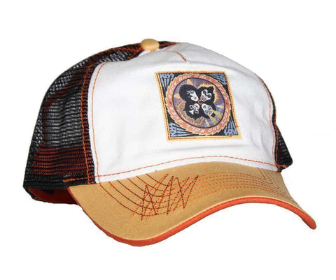Hats - KISS Rock And Roll Mesh Back Trucker Hat