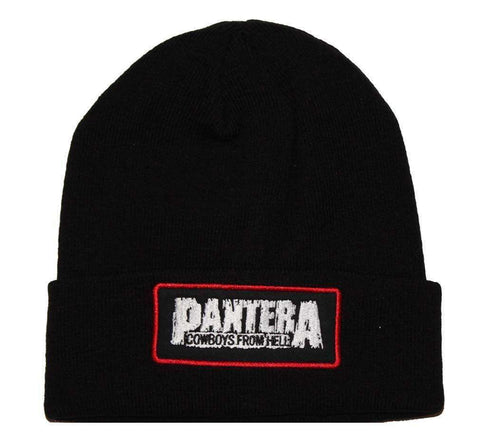 Hats - Pantera Cowboys From Hell Beanie Hat