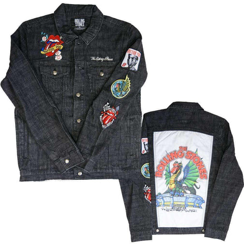 Men's Jackets - Rolling Stones Dragon Denim Jacket