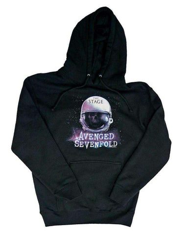 Men's Sweatshirts - Avenged Sevenfold AVS Spacehelmet Hoodie Sweatshirt
