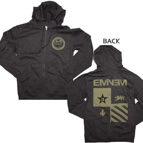 Men's Sweatshirts - Eminem Detroit Seal Hoodie