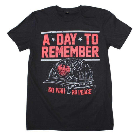 Men's T-Shirts - A Day To Remember No War No Peace T-Shirt