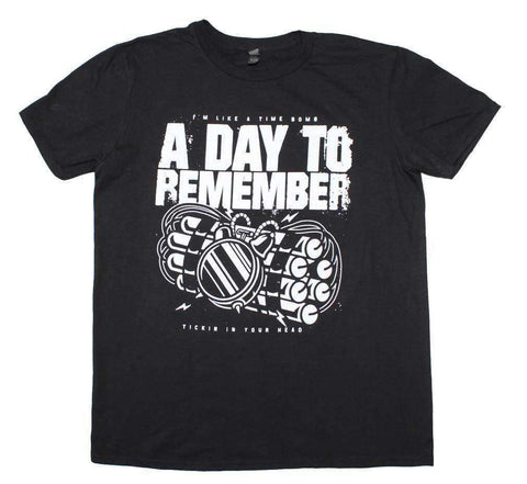 Men's T-Shirts - A Day To Remember Time Bomb T-Shirt