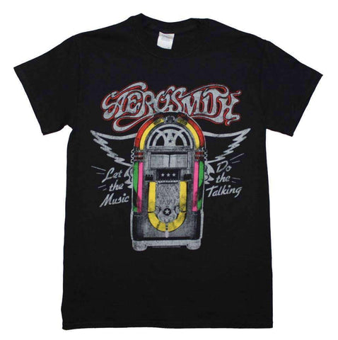 Men's T-Shirts - Aerosmith Juke Box T-Shirt
