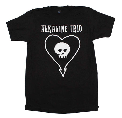 Men's T-Shirts - Alkaline Trio Classic Heartskull T-Shirt