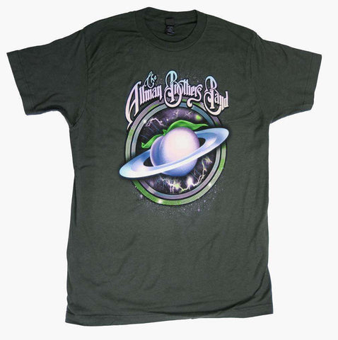 Men's T-Shirts - Allman Brothers Space Peach Soft T-Shirt
