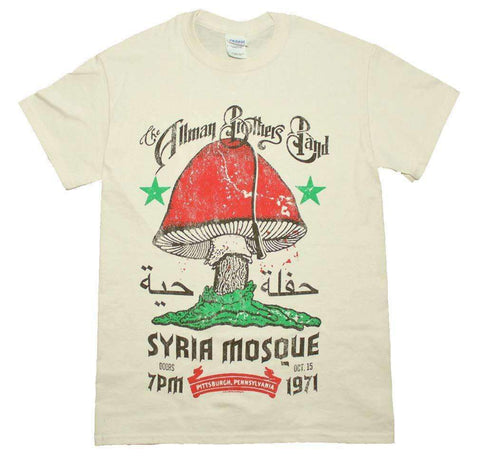 Men's T-Shirts - Allman Brothers Syria Mosque T-Shirt