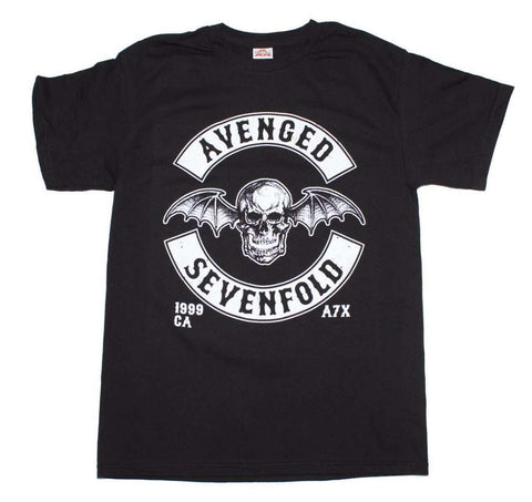 Men's T-Shirts - Avenged Sevenfold Deathbat Crest T-Shirt