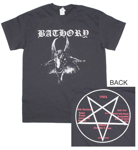 Men's T-Shirts - Bathory Goat Logo T-Shirt