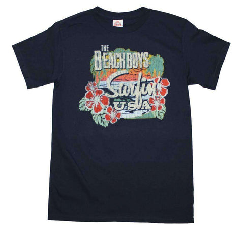 Men's T-Shirts - Beach Boys Surfing USA Tropical T-Shirt