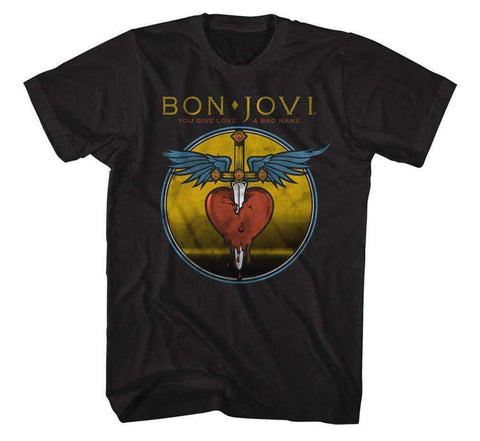 Men's T-Shirts - Bon Jovi Bad Name T-Shirt