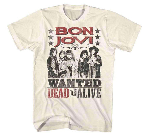 Men's T-Shirts - Bon Jovi Dead Or Alive T-Shirt