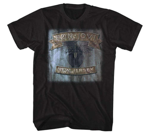 Men's T-Shirts - Bon Jovi New Jersey T-Shirt
