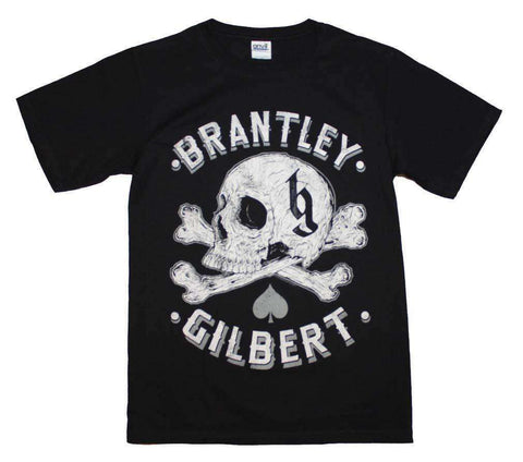 Men's T-Shirts - Brantley Gilbert Skull T-Shirt