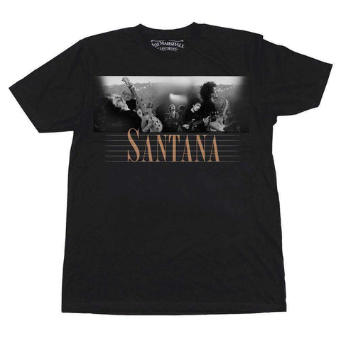 Men's T-Shirts - Carlos Santana Here And Then T-Shirt