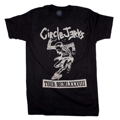 Men's T-Shirts - Circle Jerks 1988 Tour T-Shirt