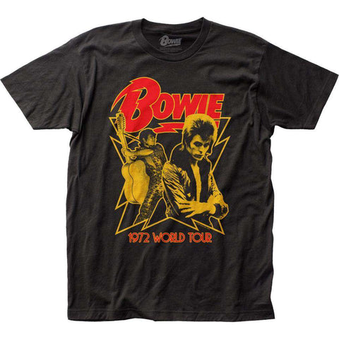 Men's T-Shirts - David Bowie 1972 World Tour T-Shirt