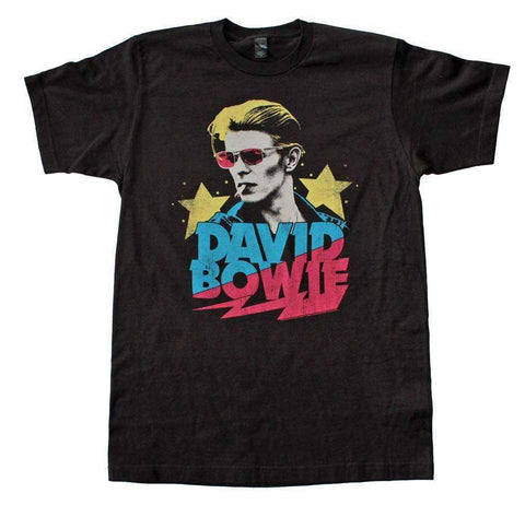 Men's T-Shirts - David Bowie Starman Soft T-Shirt