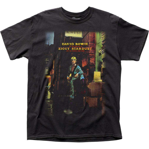Men's T-Shirts - David Bowie Ziggy Plays Guitar T-Shirt