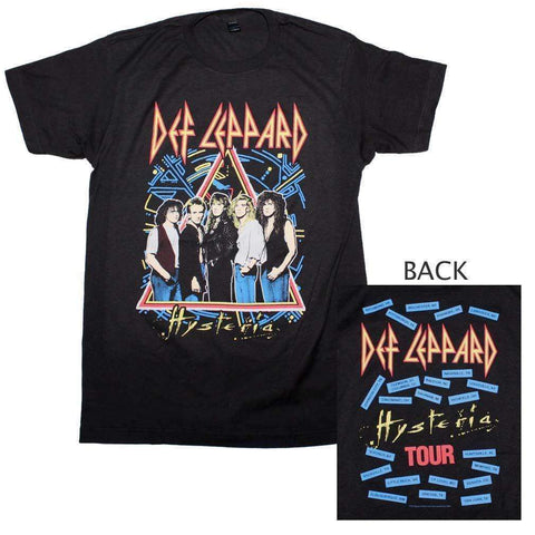 Men's T-Shirts - Def Leppard Hysteria Tour T-Shirt